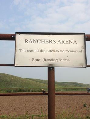 Ranchers Arena Memorial Plaque
