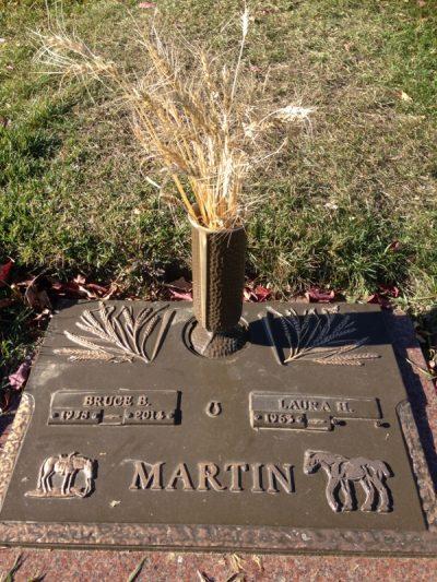 Bruces Gravesite at Evergreen Memorial Gardens