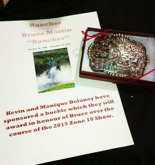 Memorial Buckle Award